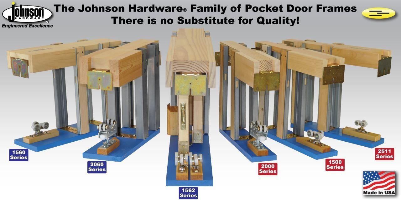 Sliding Pocket Door Hardware Kit