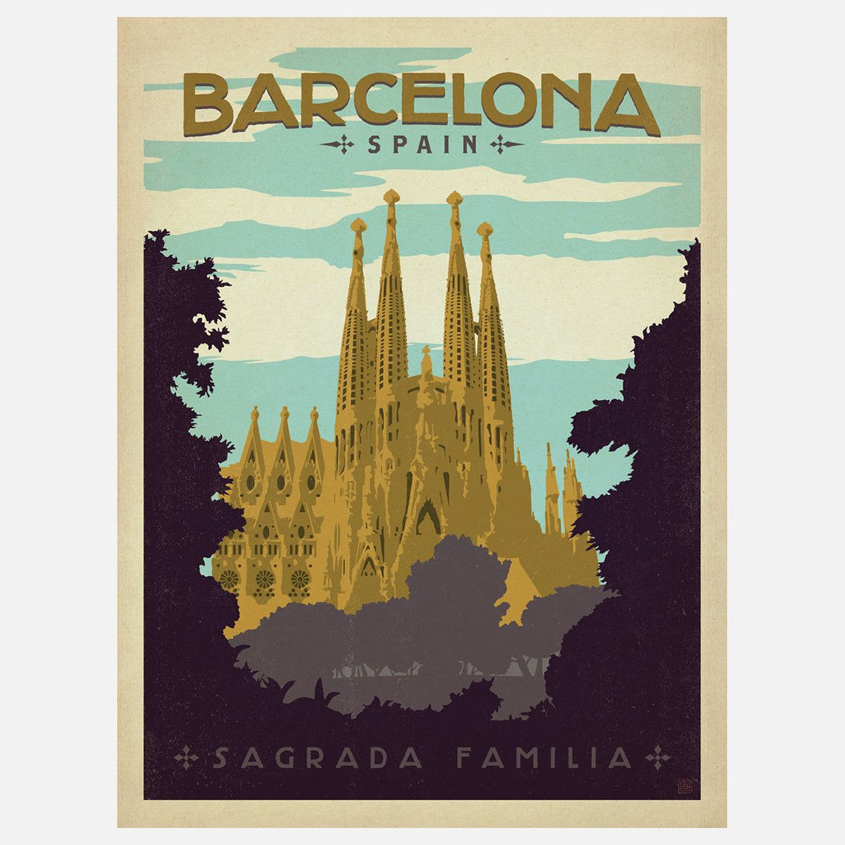 Fab.com | Barcelona 18x24