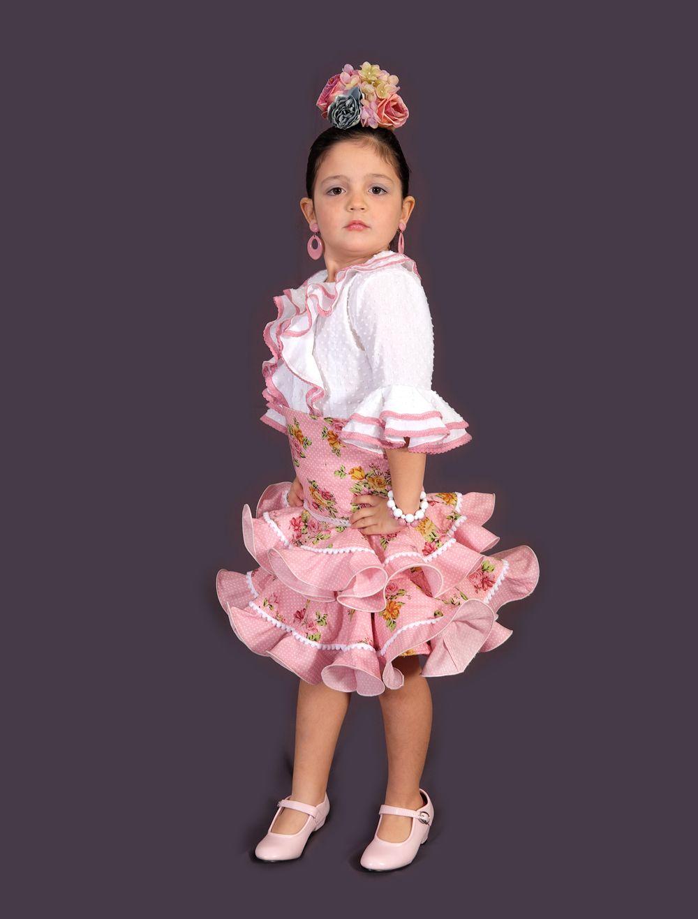 226be60a2 Camisa y Falda Flamenca Mod. Claudia (niña) | Vestuario par danza en ...