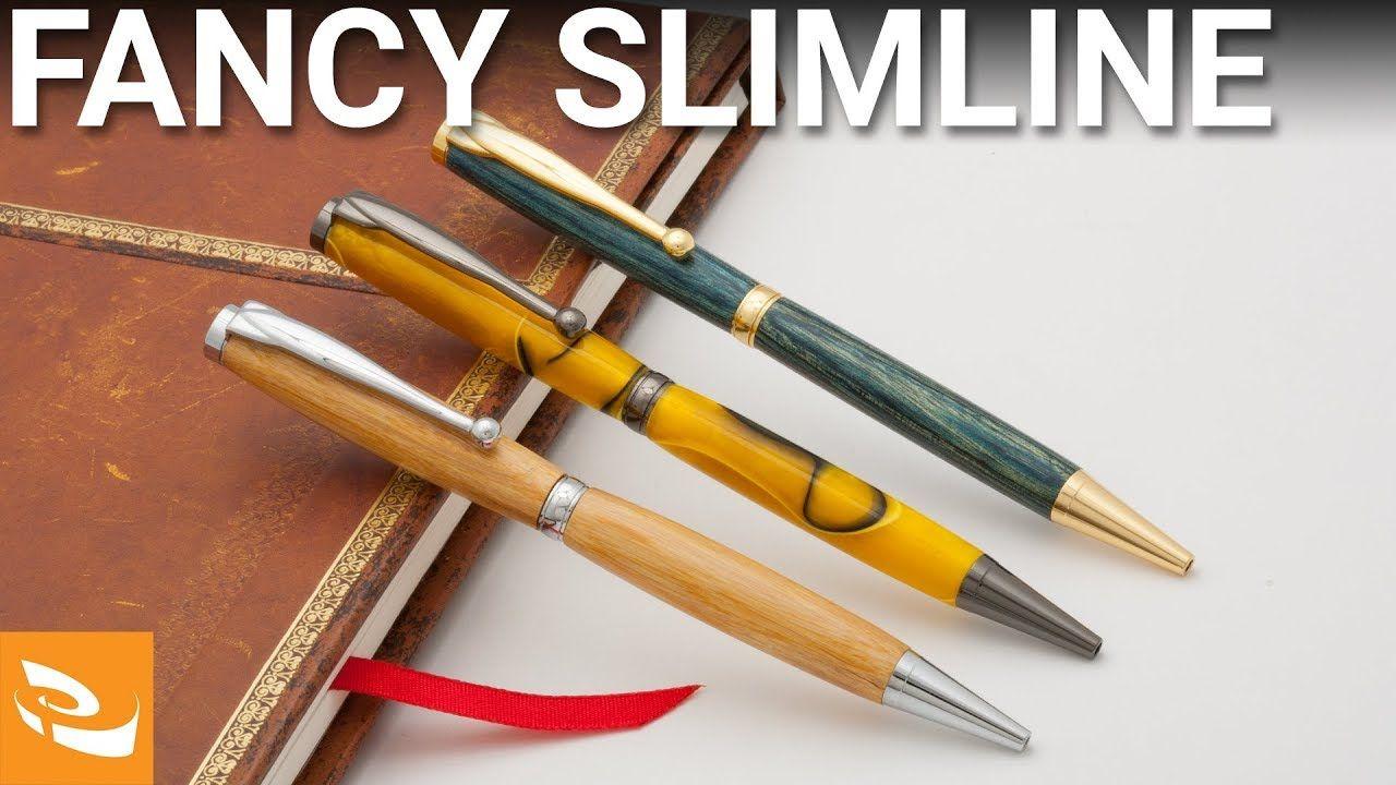 Fancy Slimline Pen Turning Kit From Craft Supplies Usa