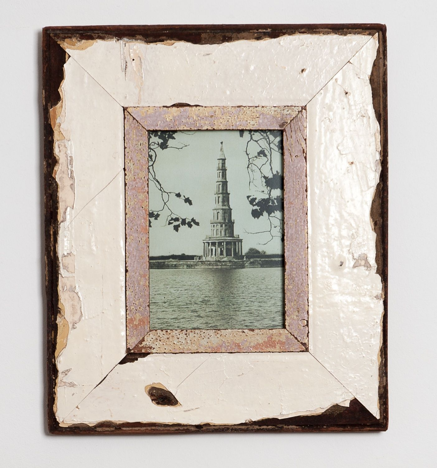 distressed wooden frame handmade in cape town south africa