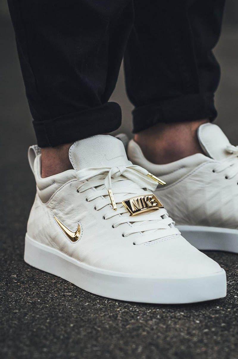 best service f8fca e55d5 NIKE Tiempo Vetta Gold x White  nikewomenrunningshoes