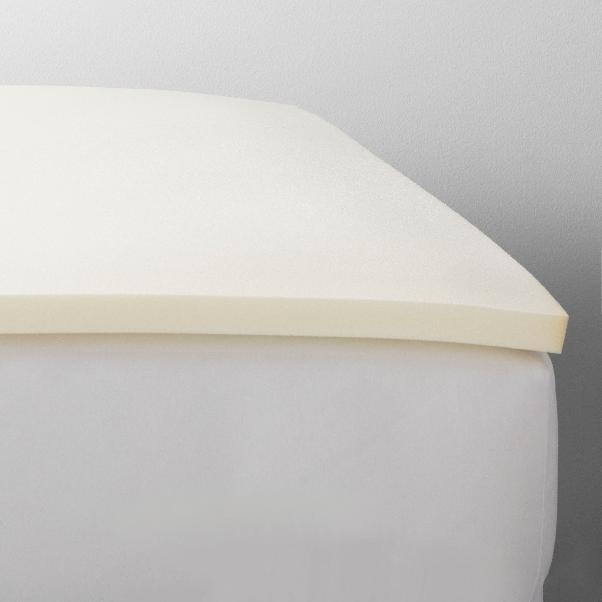 1.5 Mattress Topper (Twin Extra Long) White - Made By Design 2caf3f158