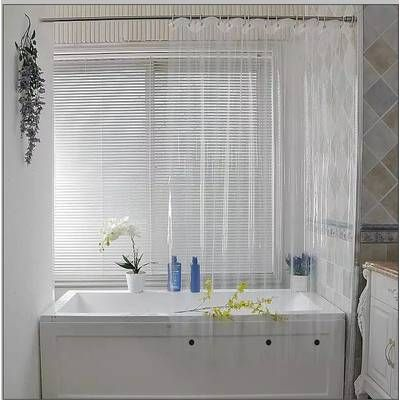 Venice Clear Heavy Duty 10 Gauge Vinyl Single Shower Curtain In 2019