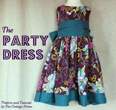 Free Baby Clothes Patterns | Vestiti avvolgenti, Tutorial vestito ...