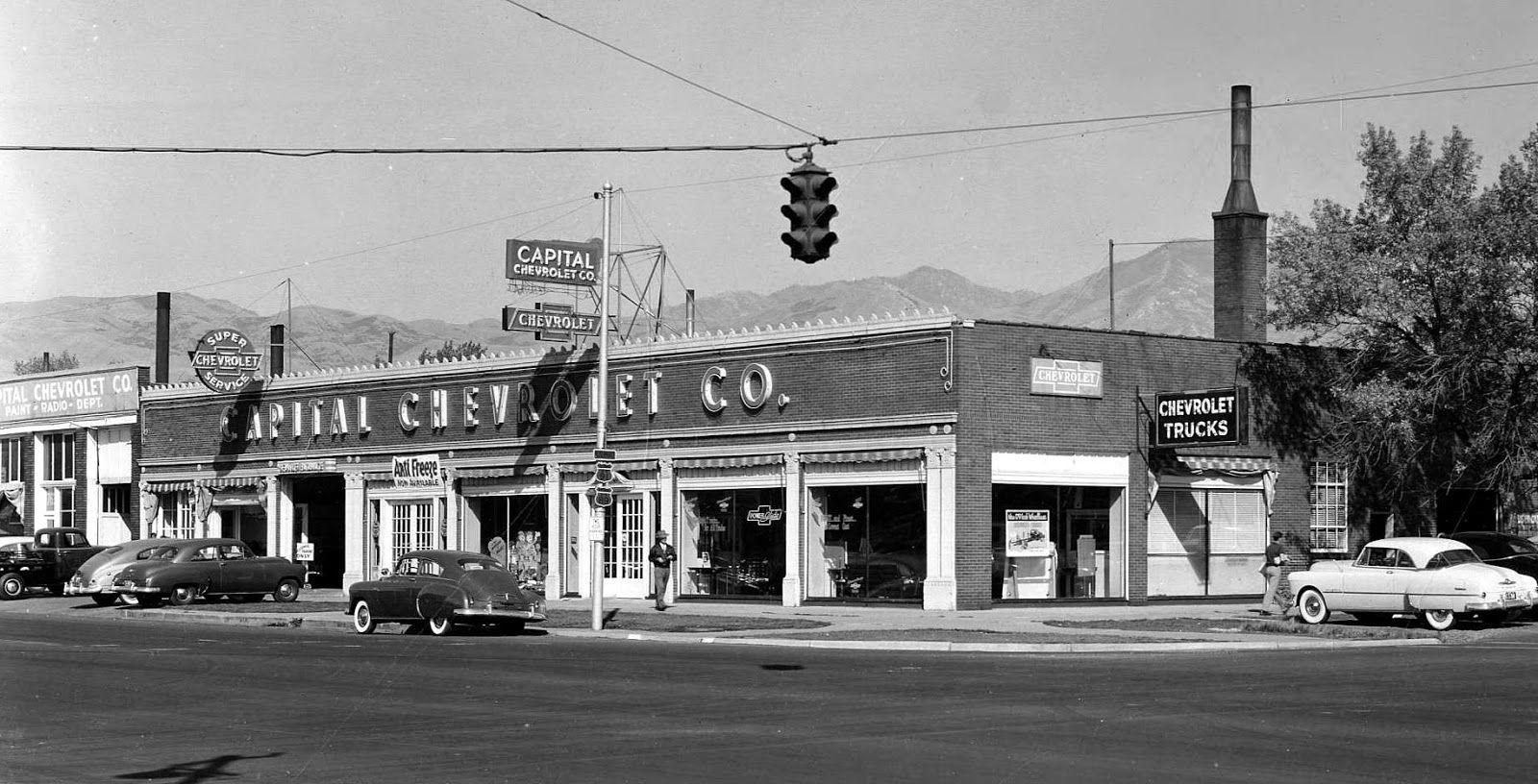 Capital Chevrolet Co.vintage car dealer Used car lots