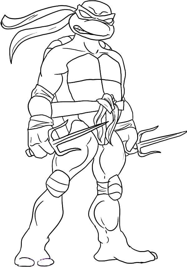 Sai Is Raphael Weapon Of Choice Coloring Page Ninja Turtle Coloring Pages Turtle Coloring Pages Superhero Coloring Pages