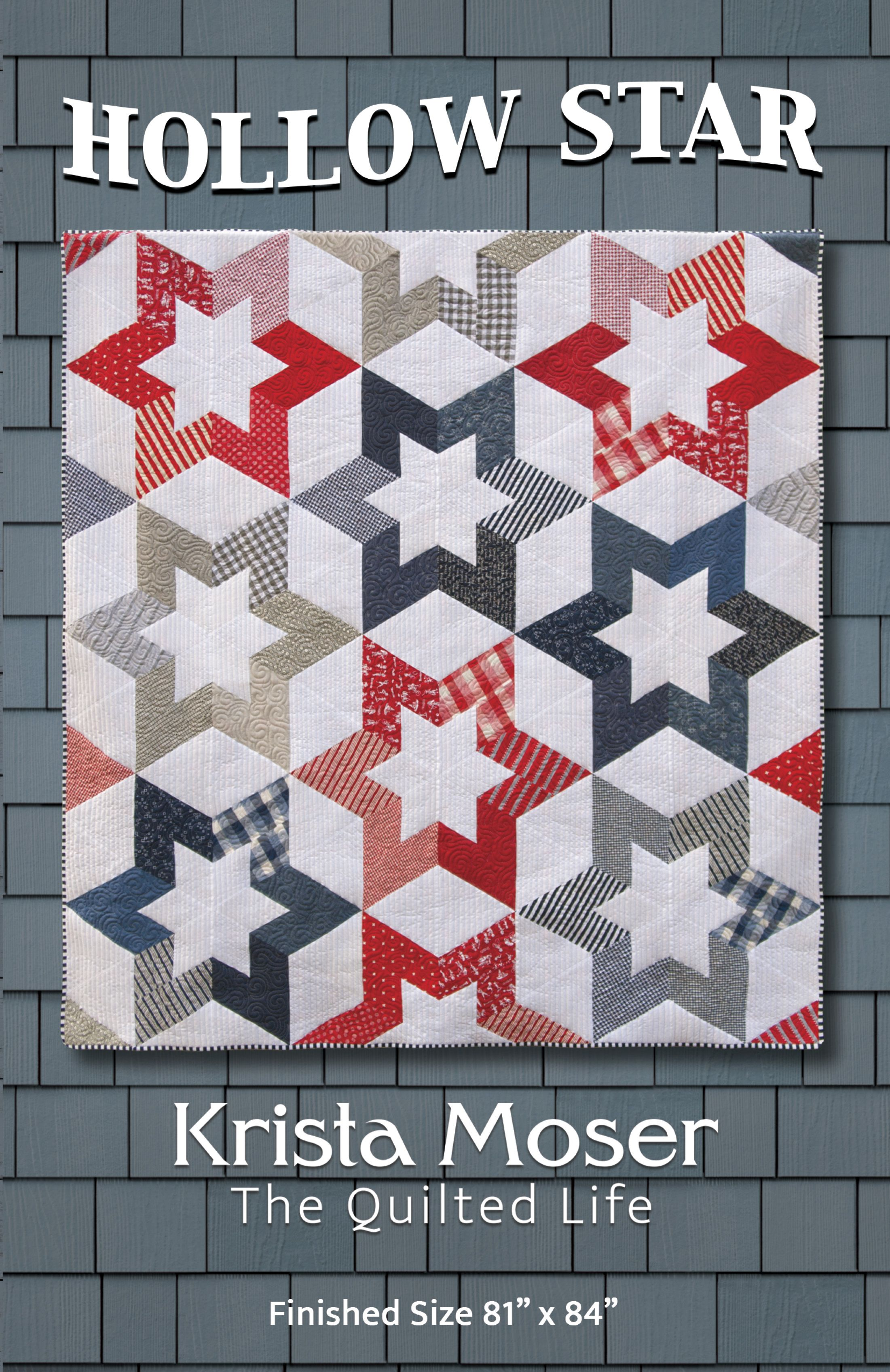 Moderne Quilts Krista Moser The Quilted Life Hollow Star Quilty Sewy Stuff