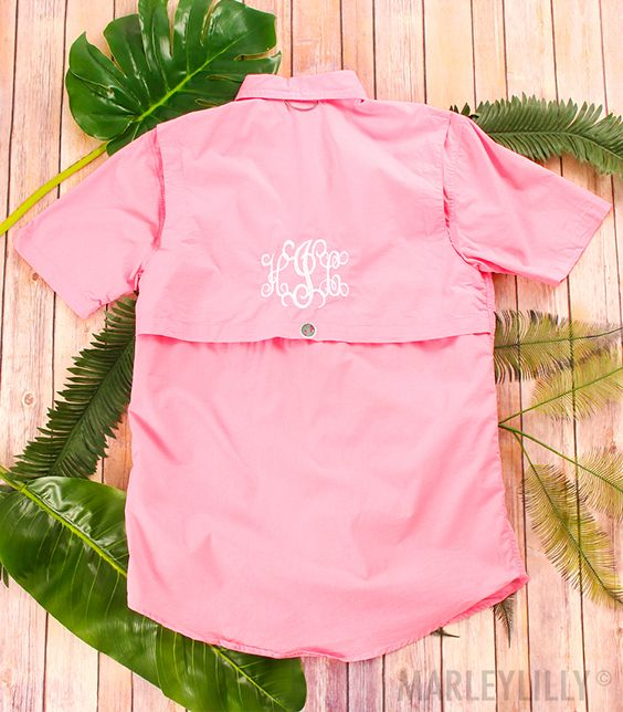 28324498f24f7 Do you have your Monogrammed Fishing Shirt ready for your next beach  vacay!? Shop now while they're on SALE!