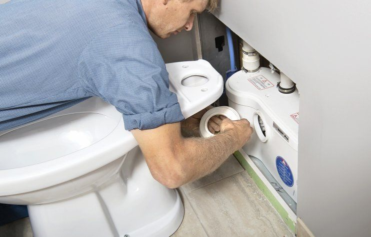 Learn How To Install A Below Grade Toilet From Toh S Plumber Basement Toilet Bathroom Plumbing Basement