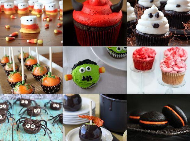 Super Cute Halloween Dessert Ideas Holiday treats Pinterest - halloween dessert ideas