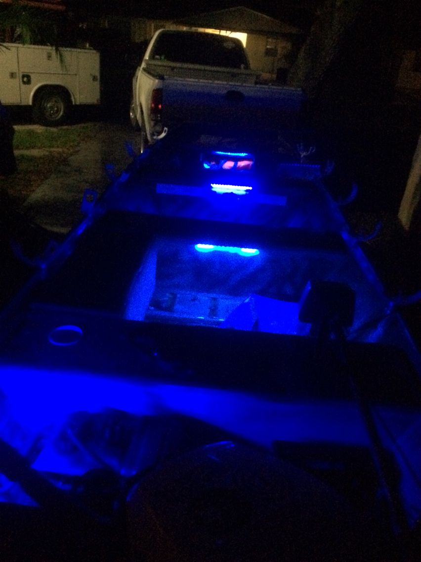 Delightful Jon Boat Led Interior Lights Off EBay