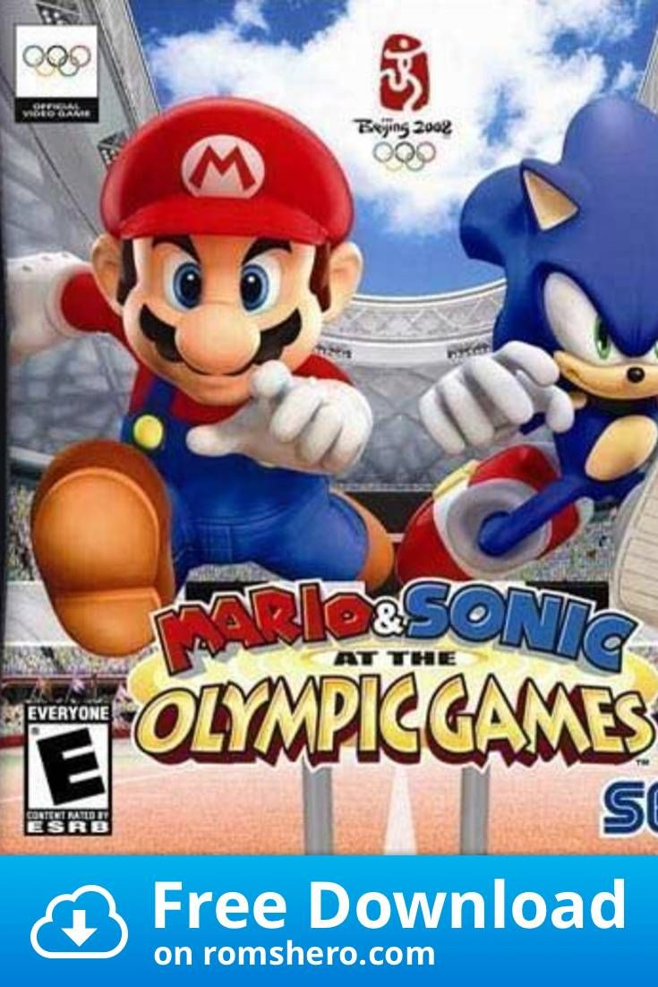 Download Mario Sonic At The Olympic Games Nintendo Ds Nds Rom Olympic Games Wii Games Nintendo Ds