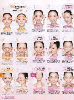 Japanese facial massage vida saludable pinterest facial japanese facial massage solutioingenieria Choice Image