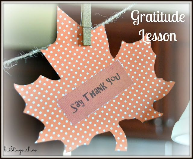 teach your kids about having gratitude