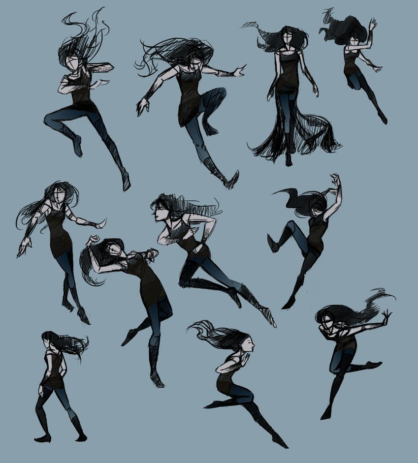 Pose Practice With Blue By Lostie815 On Deviantart Art Reference Poses Art Poses Drawing Poses