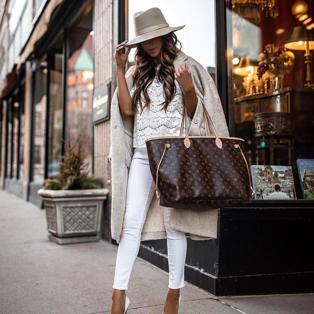 Louis Vuitton Large Mom Purse Shopping Handbags In 2020 Neverfull Outfit Louis Vuitton Neverfull Fashion