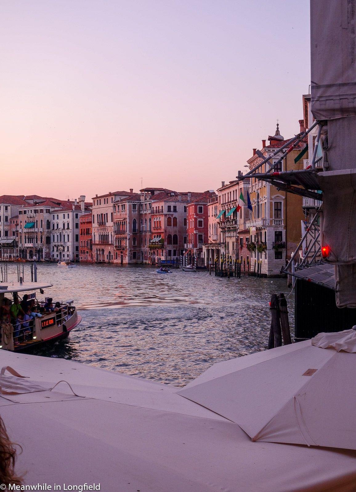 Sunset at Venezia. So nice!