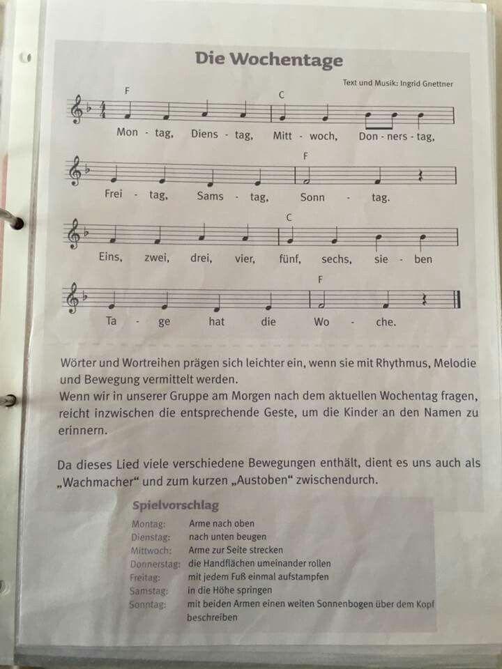Photo of Weekday song #kindergarten #bringing #music #lie … – #bringing
