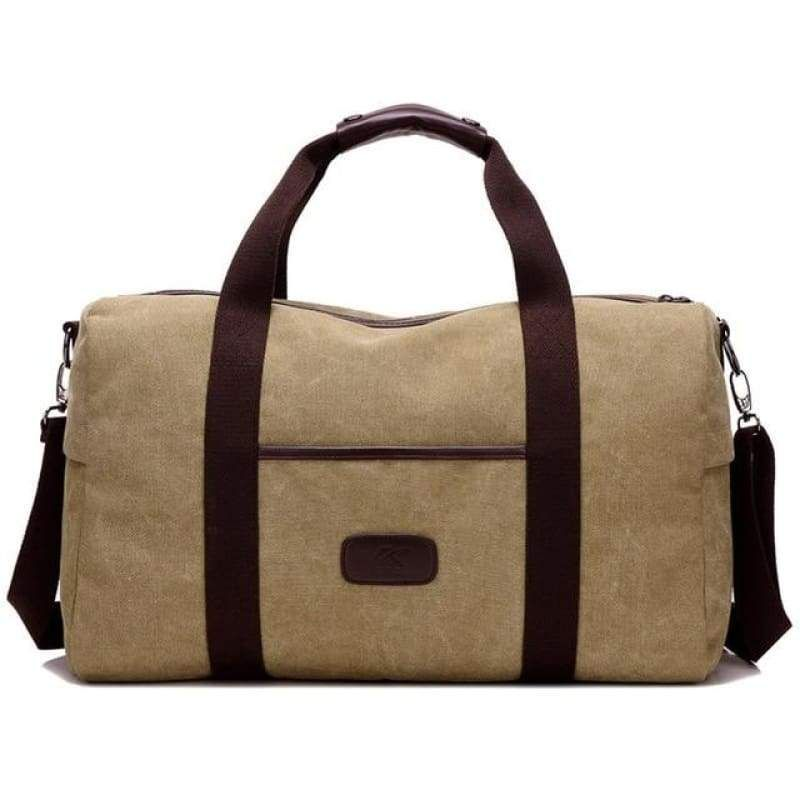Large Capacity Retro Men Canvas Shoulder Bag in 2019  854a6a64e7b63