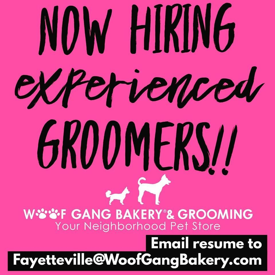 We Are Hiring For 1 2 Experienced Groomers Please Share With Your