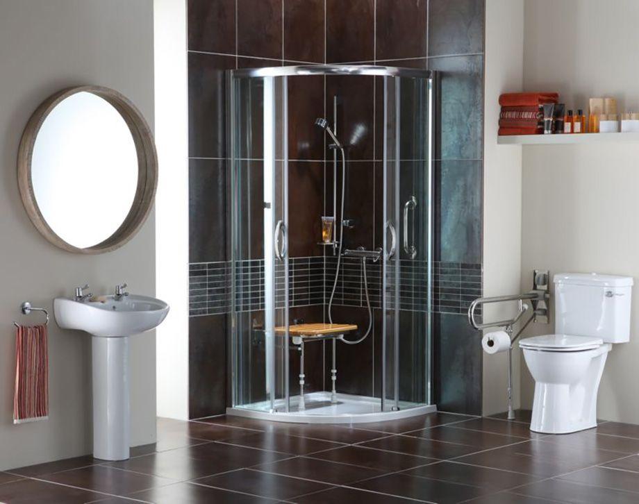 15 แบบห องน ำ รองร บผ ส งอาย คนพ การ บ านไอเด ย แบบบ าน ตกแต งบ าน เว บไซต เพ อบ านค Home Remodeling Diy Bathroom Remodel Small Shower Bathrooms Remodel