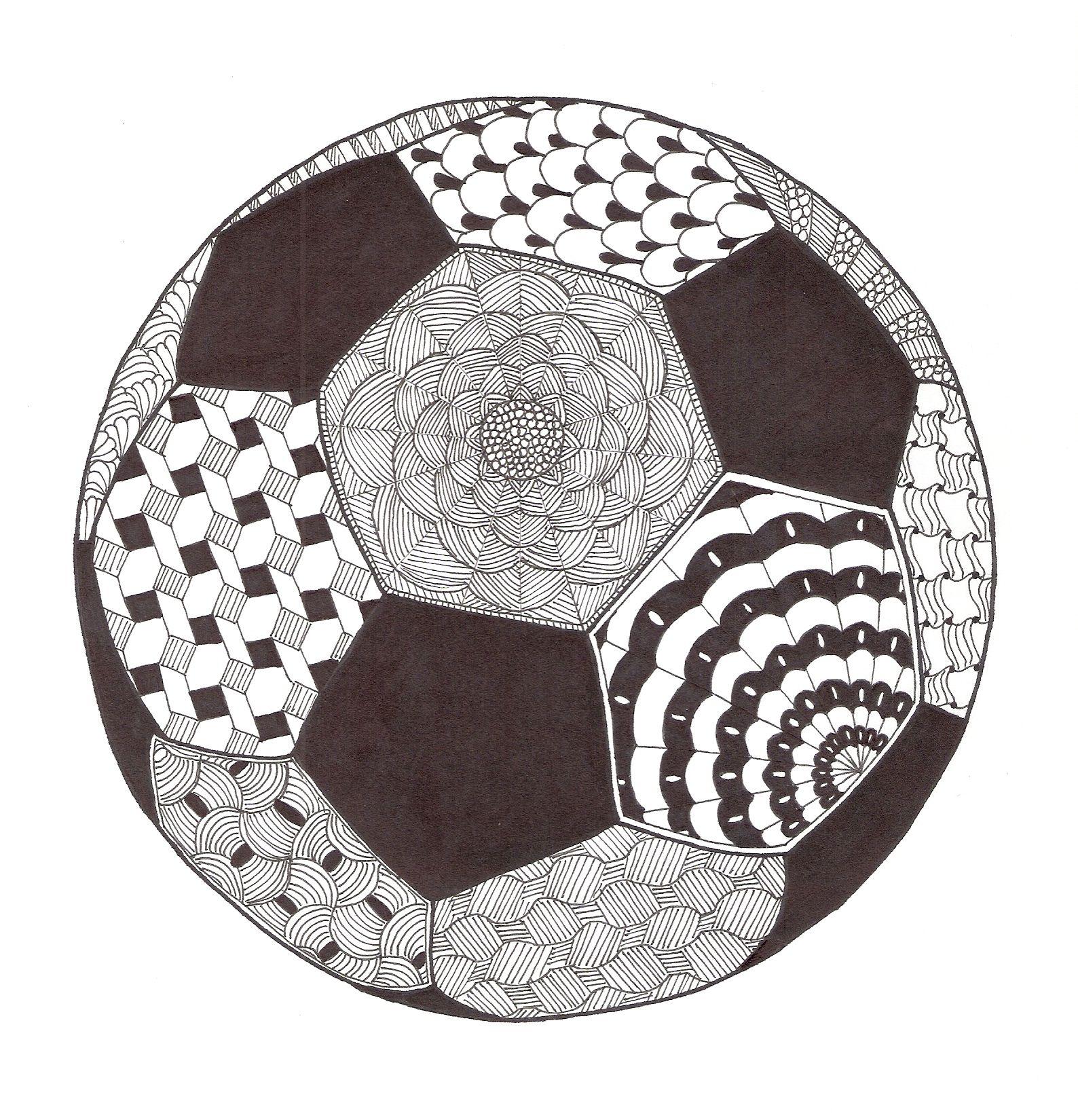 Zentangle Made By Mariska Den Boer 62 Mandala Zentangle Kleurplaten