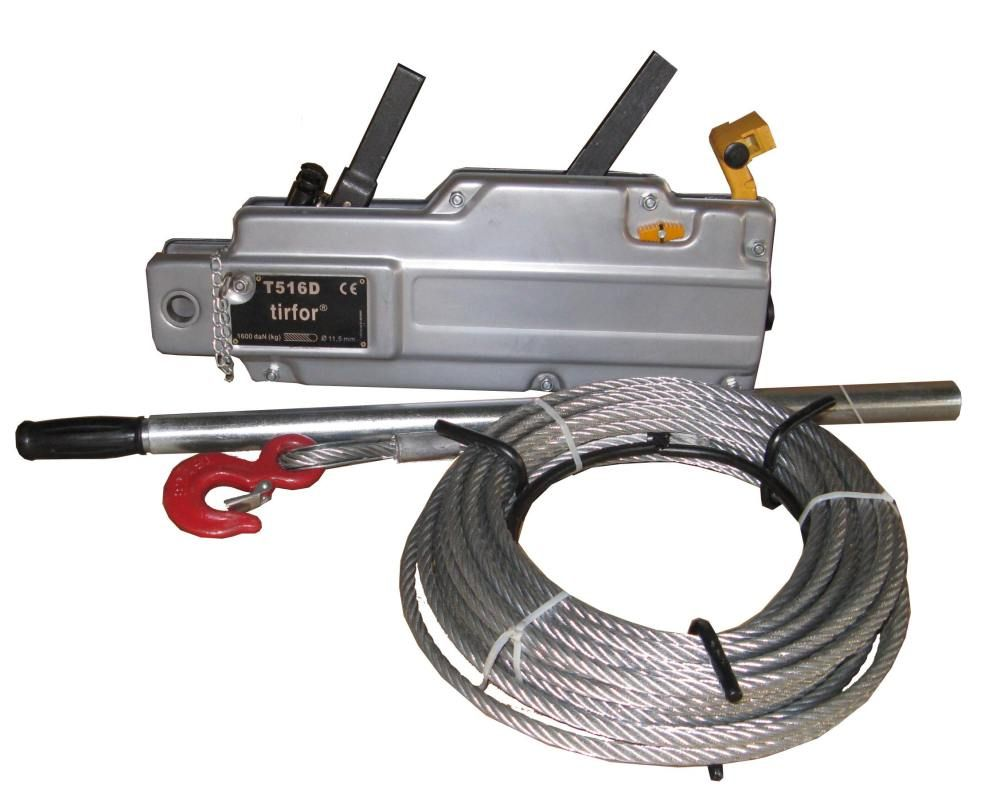 Tractel Wire Rope Puller designed for pulling,lifting at any ...