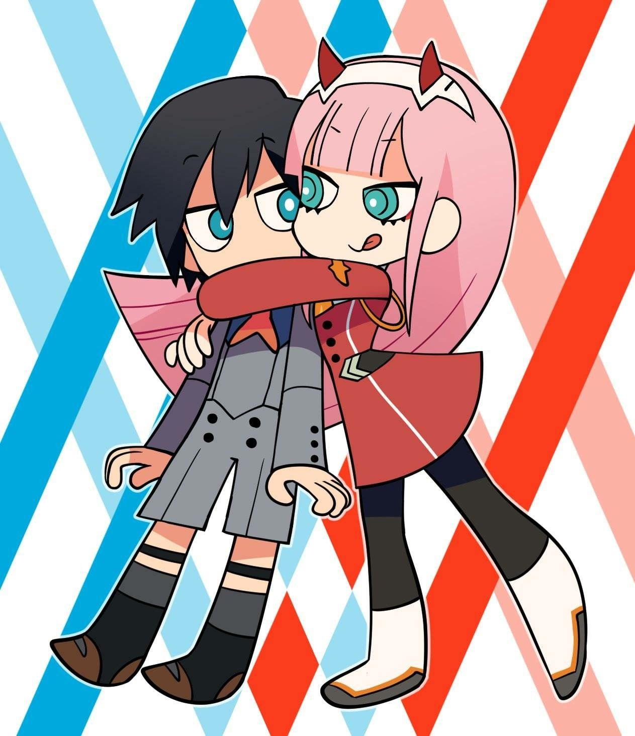You I Like You Will You Be My Darling Darling In The Franxx Anime Chibi