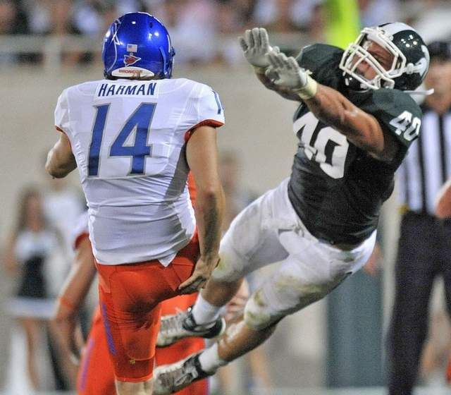 Michigan State Spartan Max Bullough | Msu spartans football ...