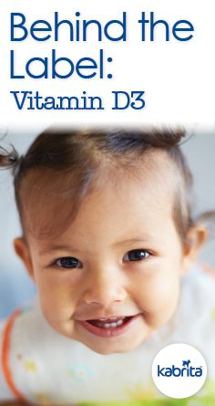 Behind the label: Get an inside look at Vitamin D3, and how it supports children's growth and development.