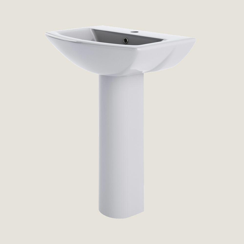 Yenta 600mm Basin & Full Pedestal