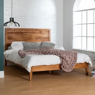Carbon Loft Channing Solid Wood Queen Plank Bed In 2020 Bed