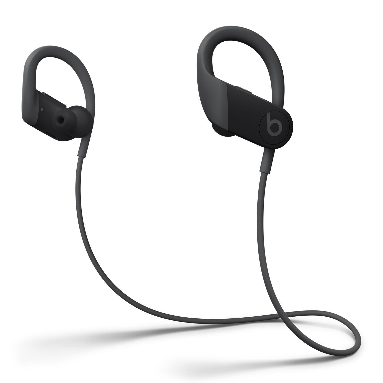 Powerbeats High Performance Wireless Earphones With Apple H1 Headphone Chip Black Walmart Com Running Headphones Wireless Earphones Best Running Headphones