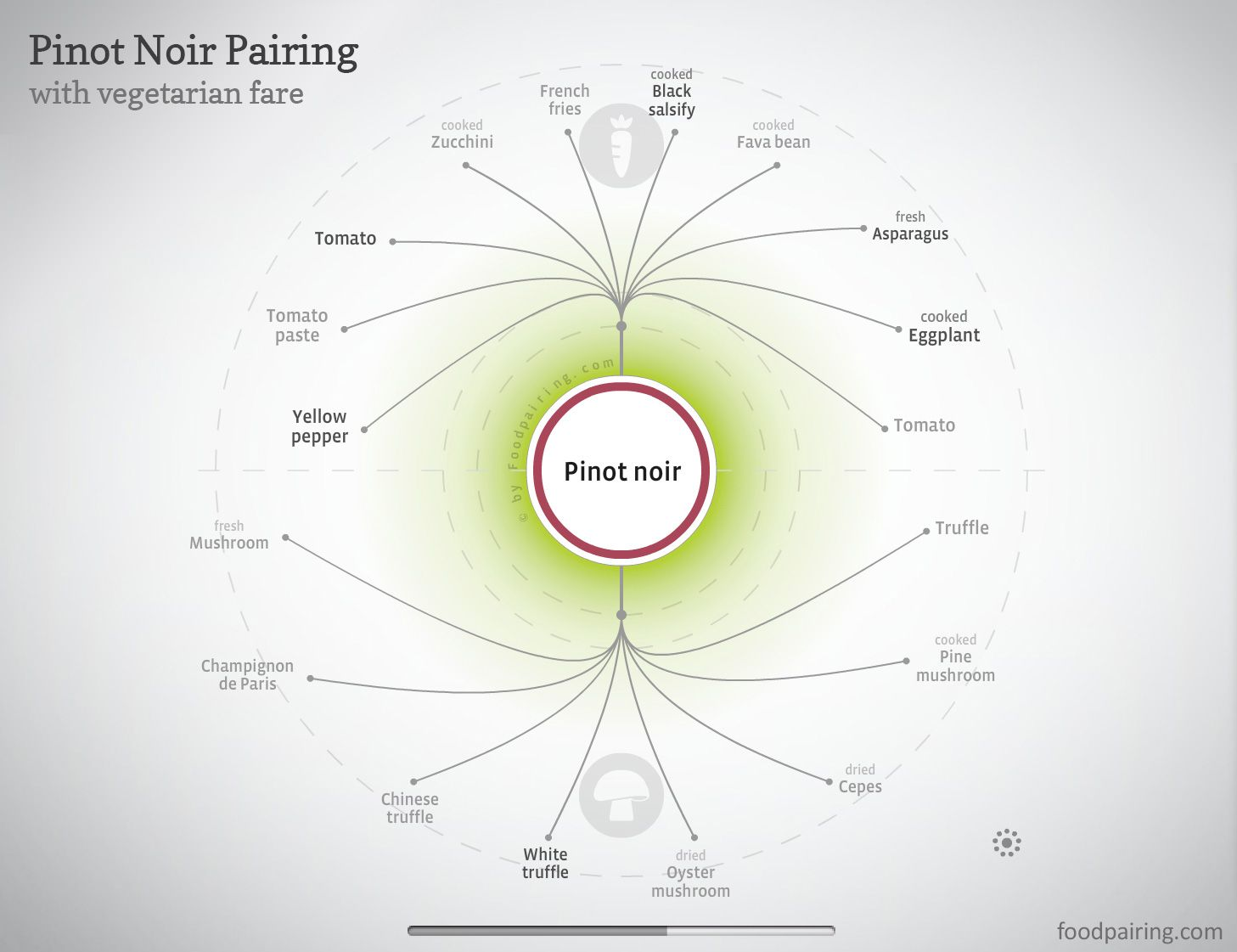 Techniques For Perfect Taste And Flavor Pairings W Charts Pinot Noir Pairing Wine Food Pairing Wine Basics