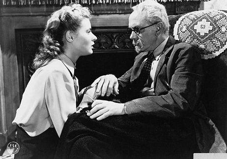 Ingrid Bergman and Michael Chekhov in Spellbound