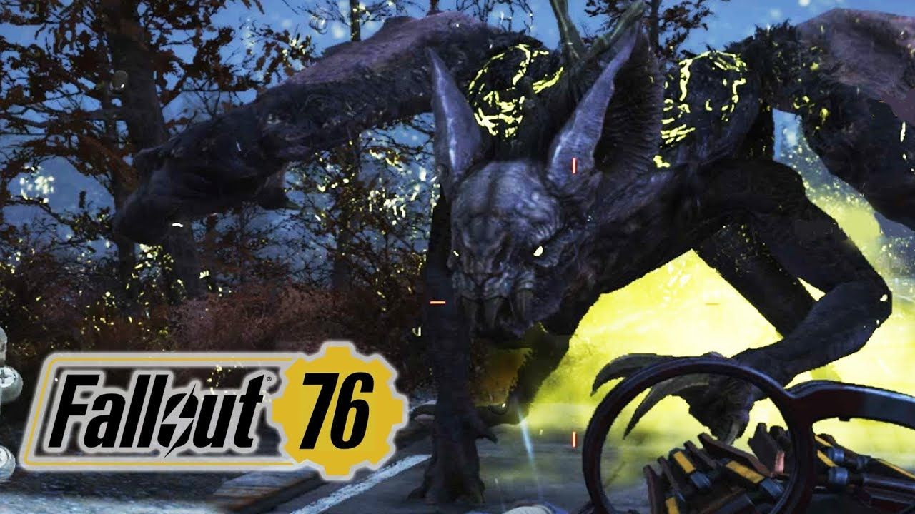 FALLOUT 76 PC Solo Gameplay – SCORCHBEAST BATTLE | Fallout
