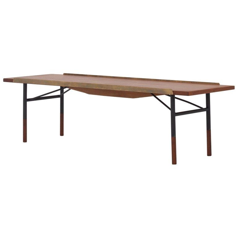 Awe Inspiring Bo 101 Table Or Bench In Teak By Finn Juhl Products In Pabps2019 Chair Design Images Pabps2019Com