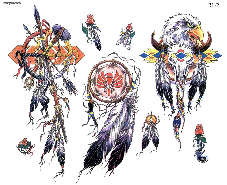 Tatuaje diseños de plumas indias | Plumas | Pinterest | Plumas ...