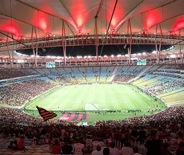 Join sports-crazed soccer fans in Rio de Janeiro next year for the 2014 World Cup. #Brazil