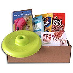 Dog Gift Box Puppy Pets Treats Toys Holiday Set Dog Gifts Pet