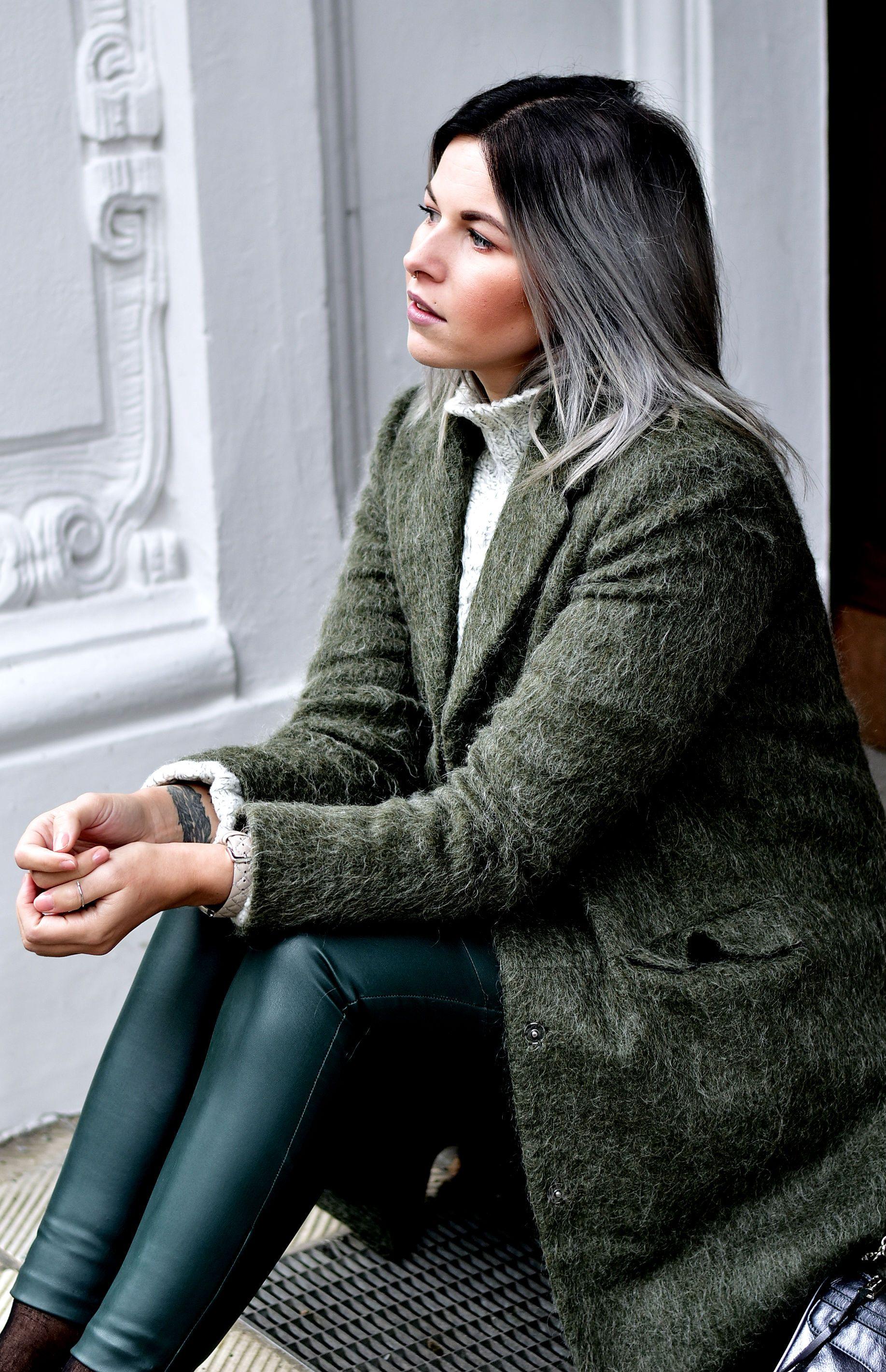 neuer Stil wie kauft man viele modisch Fashionzauber.com, Streetlook, Streetstyle Citylook: Grüne ...