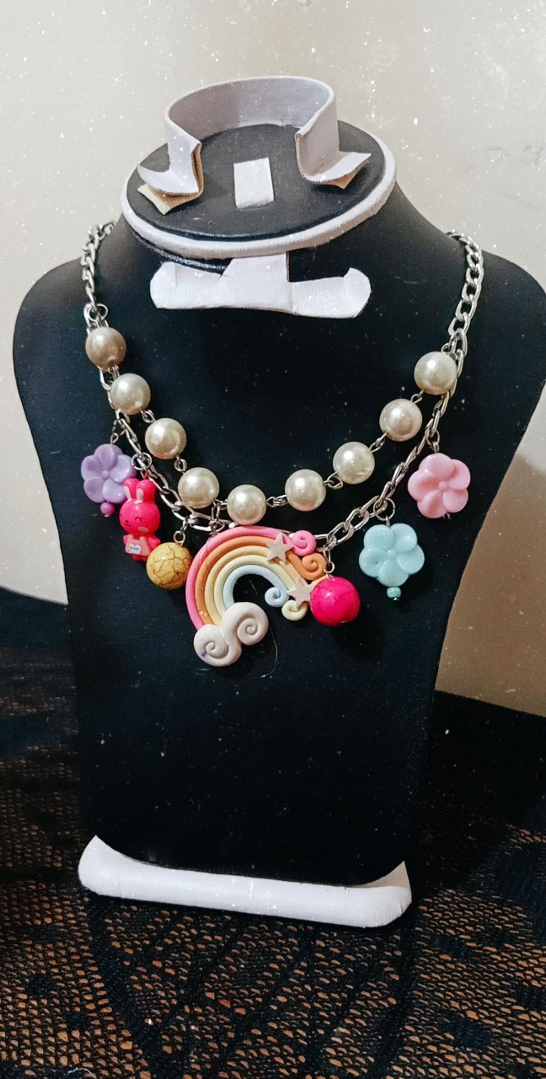 اكسسوارات بنات اكسسورات اطفال Statement Necklace Necklace Jewelry