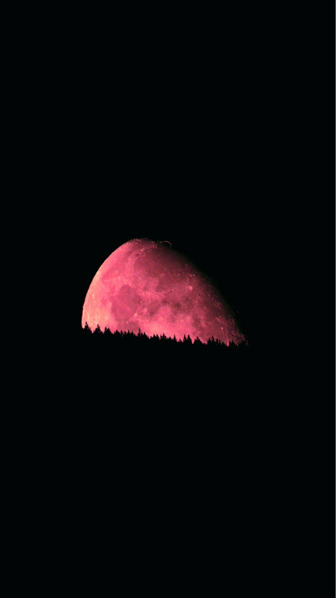 Big Red Moon Dark Night Iphone 6 Wallpaper Download Iphone Wallpapers Ipad Wallpapers One Stop Download Ipad Wallpaper Red Moon Iphone 5s Wallpaper