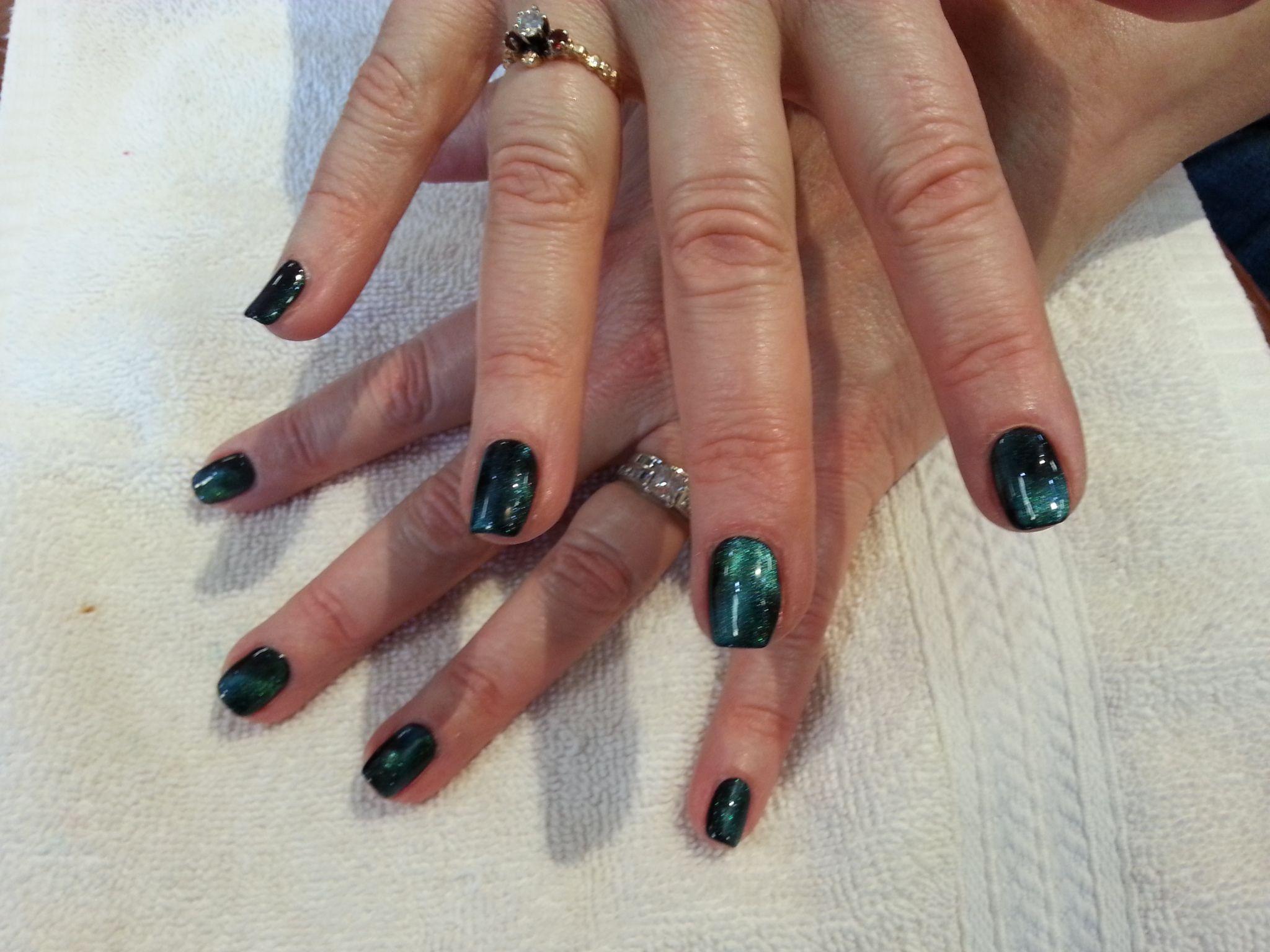 Galaxy gel nails by AORA GEP!! So cool!! #galaxy, #galaxynails ...