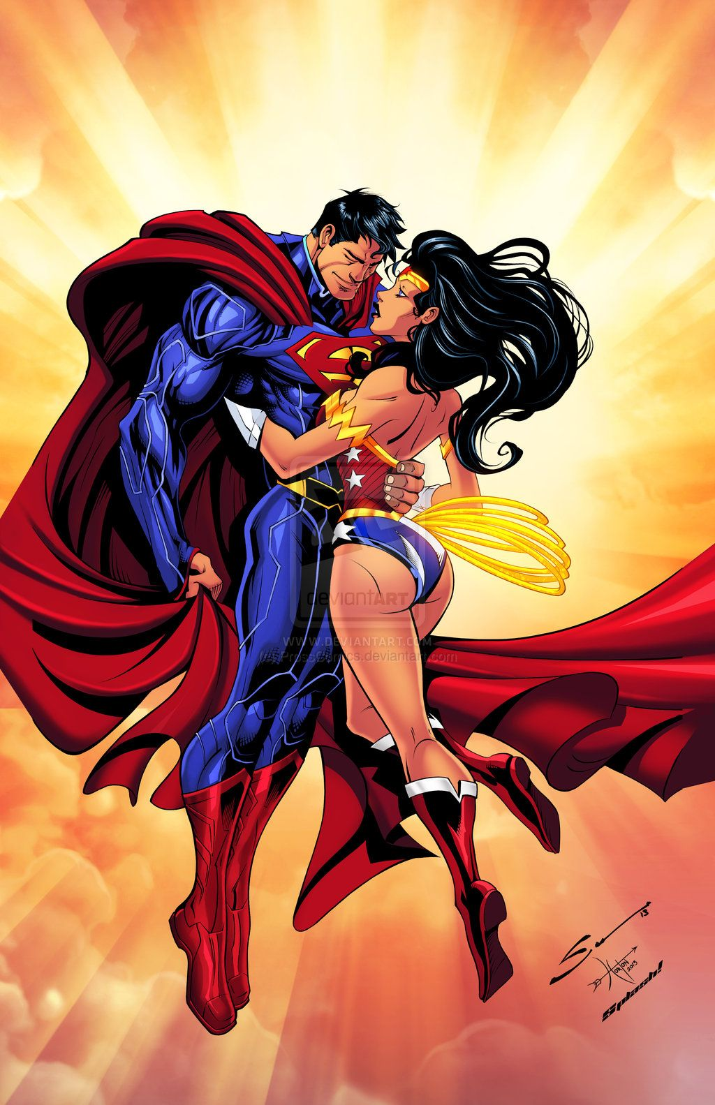 Superman  Wonder Women  DC COMICS  Pinterest  Superman wonder