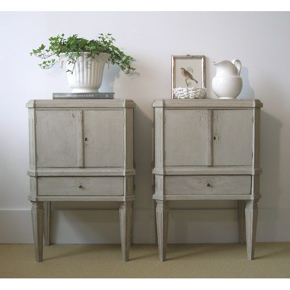 My Swedish nightstands