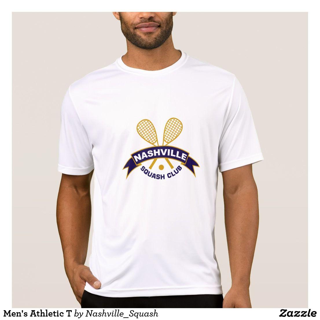 Nashville Squash Club Men's Athletic TShirt