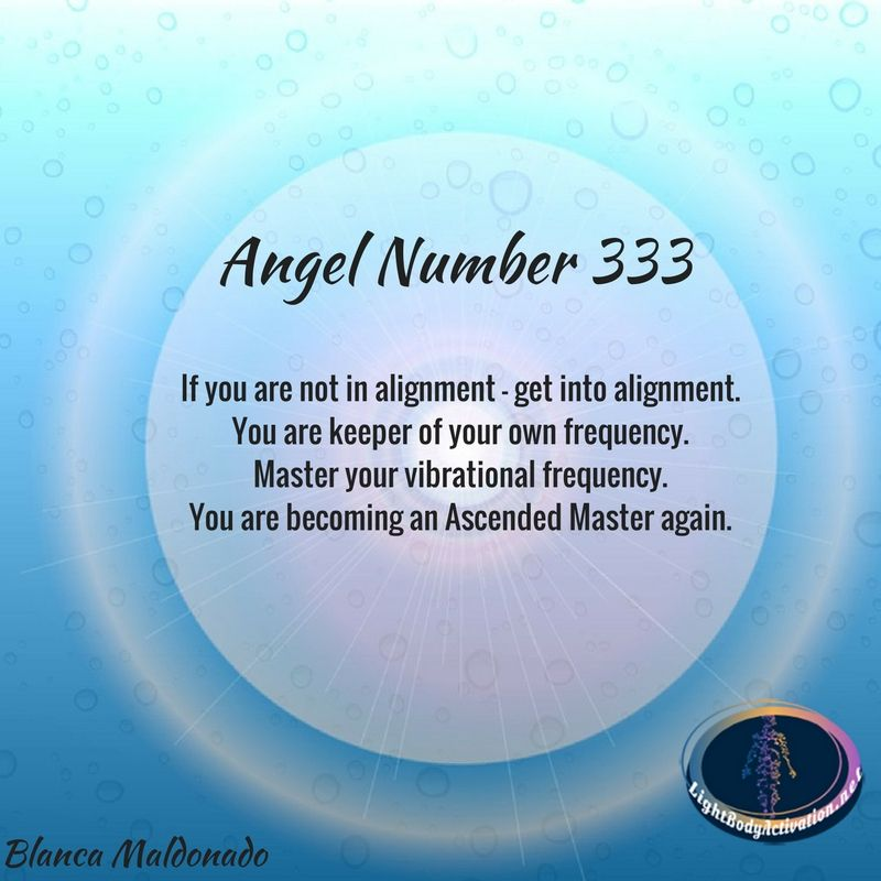 Angel Number 333  Angels  Numerology Angel numbers