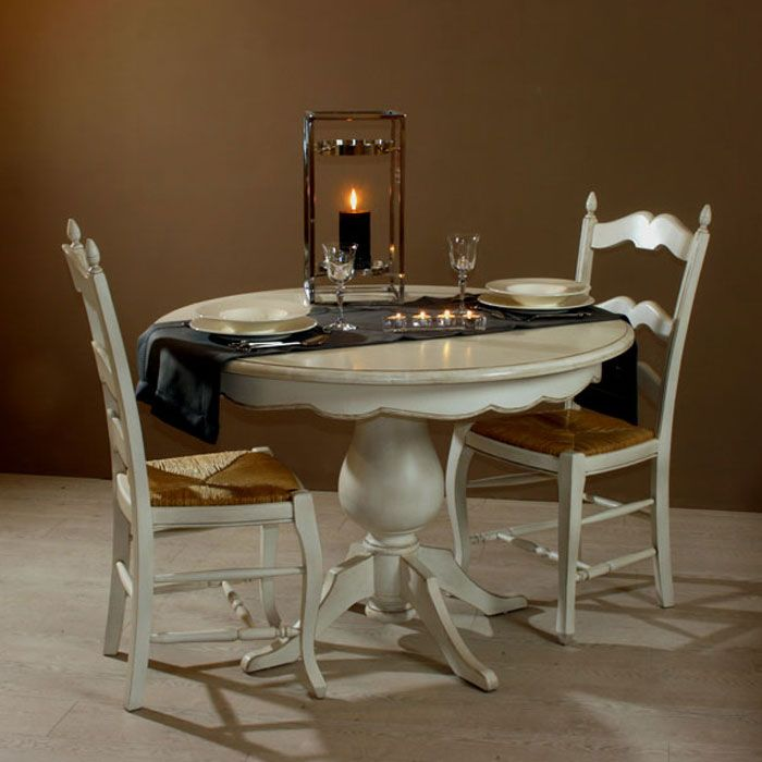 Table Provencale Ronde Mobilier De Salon Cuisine 3d Meubles Peints